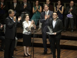 Pablo Casals International Competition's Award Ceremony in Budapest 2014