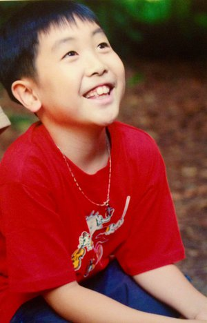 Stephen Kim as a child (1/3)