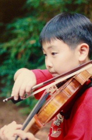 Stephen Kim as a child (2/3)