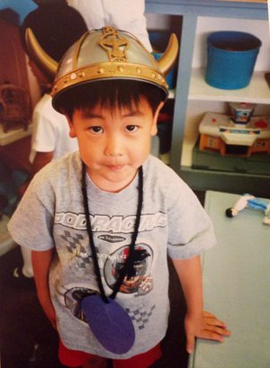 Stephen Kim as a child (3/3)