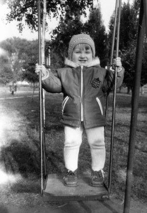 Момент из счастливого детства!